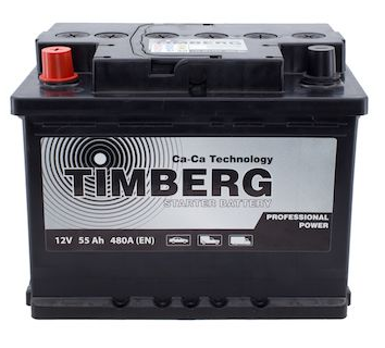 Аккумулятор Timberg Professional Power 55Ah L 480A