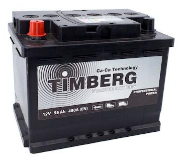 Аккумулятор Timberg Professional Power 55Ah L 480A