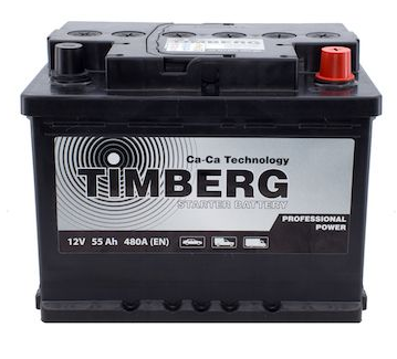 Аккумулятор Timberg Professsional Power 55Ah R 480A