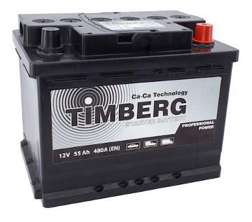 Аккумулятор Timberg Professsional Power 55Ah R 480A