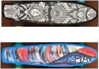 Пенниборд BlackAqua WX-205