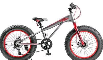 """Велосипед BLACK AQUA Fat 2221 D matt 20"""" 2018"""