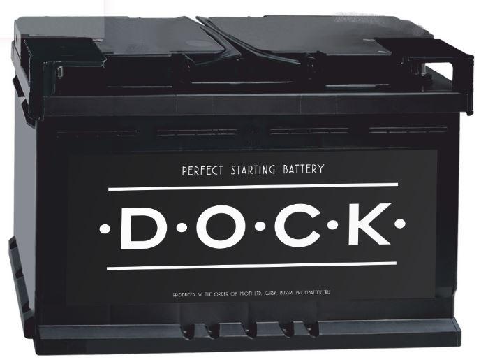 Автомобильный аккумулятор Dock 6СТ-60R (VL)