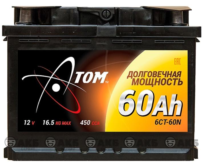 АТОМ 6СТ-60 NR
