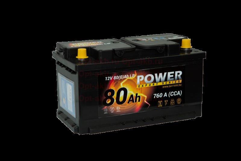 POWER 12V 80(0)Ah LB