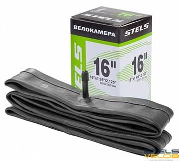 "Велокамера STELS Seyoun 16"" x 1.95""/2.125"" с автовентилем"