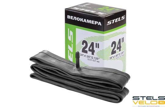 "Велокамера STELS Seyoun 24"" x 1.95""/2.125"" с автовентилем"