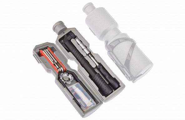 Набор велоинструментов KL-9806 из 11-ти предметов в футляре в форме фляги