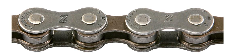 """Велосипедная цепь Z50 KMC 1/2""""х3/32"""", 110 звеньев для 5-7 скор."""