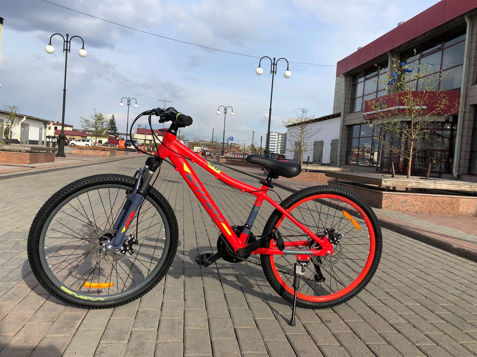 Велосипед WIND Reflex 24