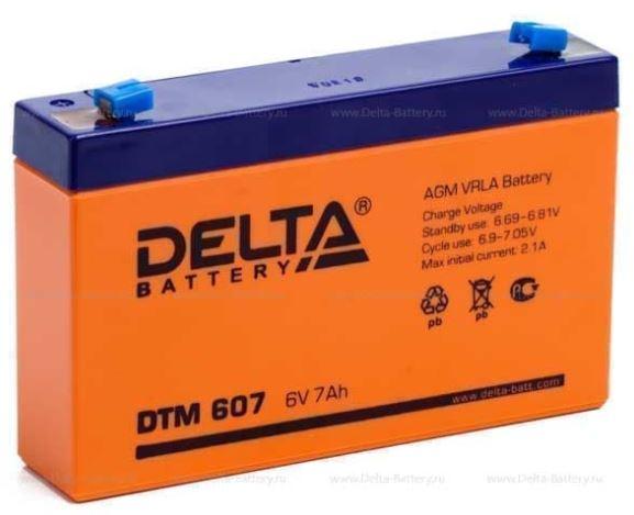 Аккумулятор Delta DTM 607