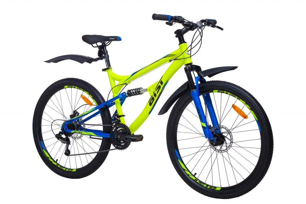 """Двухподвесный велосипед AIST Avatar Disc 26"""""""