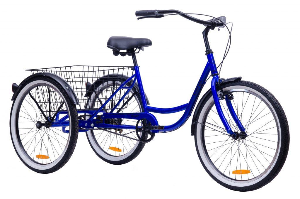 """Трехколесный грузовой велосипед AIST CARGO 1.0 24"""" (1-ск)"""
