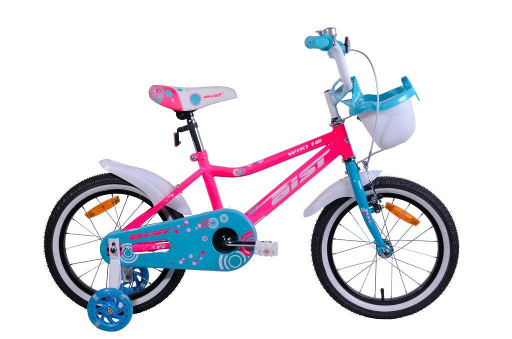 "Велосипед AIST WIKI 16"" с корзиной"