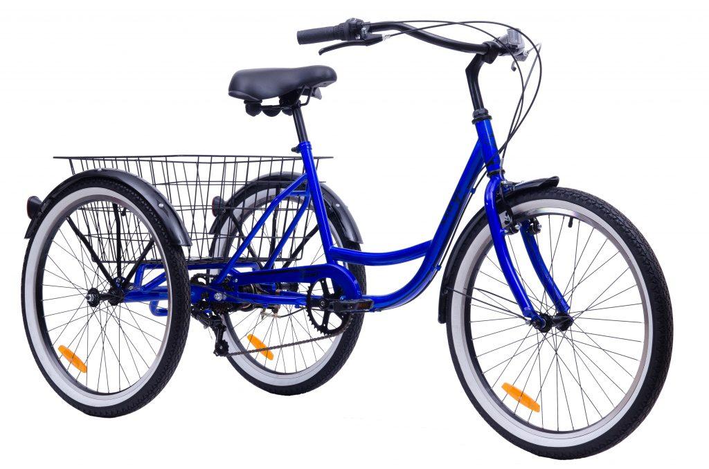 """Трехколесный грузовой велосипед AIST CARGO 2.0 24"""" (7-ск)"""