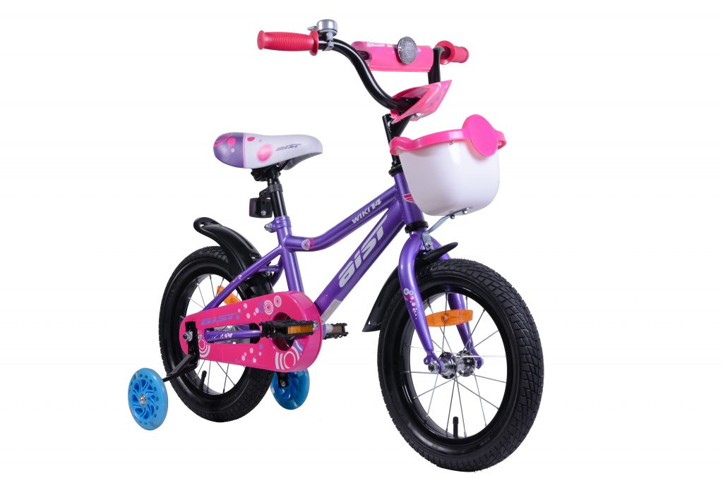"Велосипед AIST WIKI 14"" с корзиной"