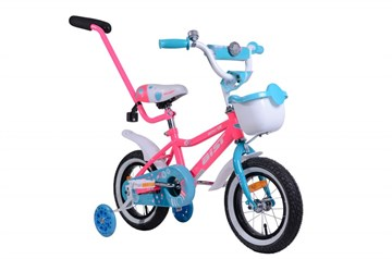 "Велосипед AIST WIKI 12"" с корзиной"