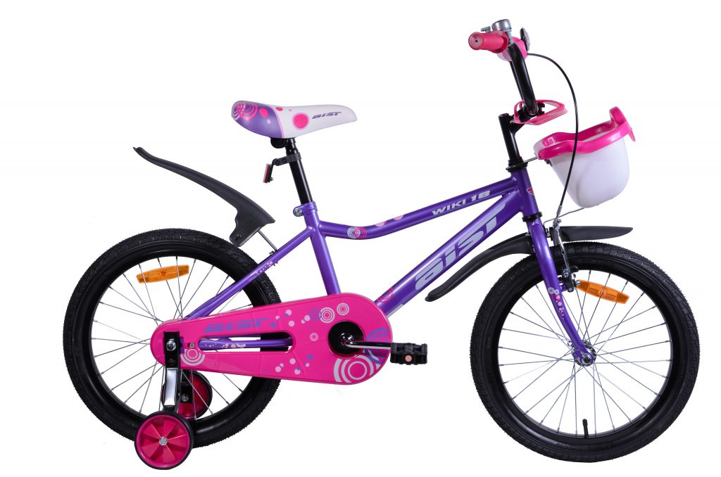 "Велосипед AIST WIKI 18"" с корзиной"