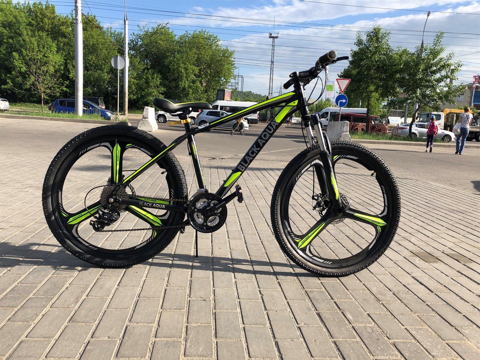 "Велосипед BLACK AQUA Cross 2692 D 26"""