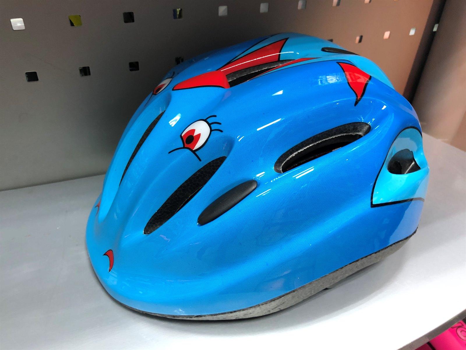 Детский велосипедный шлем V10BL, размер: L (47-56 см)