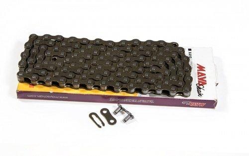 Односкоростная велосипедная цепь MAYA с замком 104 звена