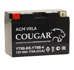 Мото аккумулятор Cougar AGM VRLA YT9B-BS