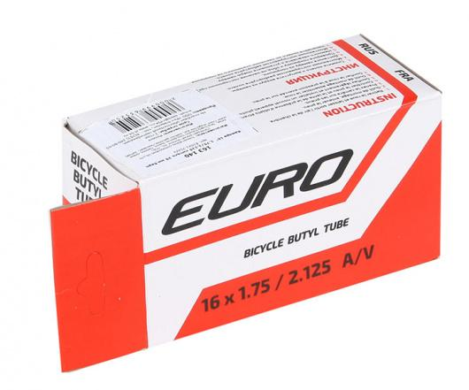 Велосипедная камера 16X1.75/2.125, нипель 35 мм, Евро