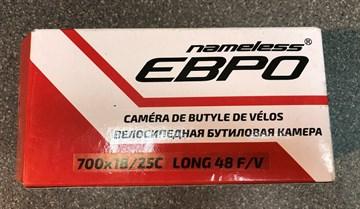 Велосипедная камера 700х18/25С ниппель Presta 48 мм Евро
