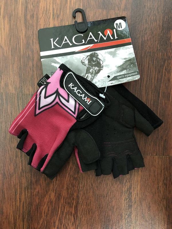 Женские биэластичные перчатки без пальцев Kagami 2334-2014 (размер M)