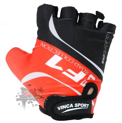 Подростковые велоперчатки VINCA SPORT VG 924 Red, размер XL