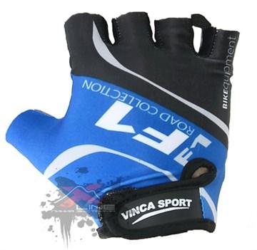 Подростковые велоперчатки VINCA SPORT VG 924 Blue, размер XXL