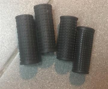 Грипсы чёрные, 70 мм, укороченные, для детского велосипеда