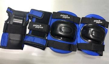 Комплект защиты BLACKAQUA черно-синий