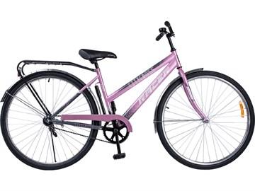 2860 Велосипед RACER  LADY серо-розовый