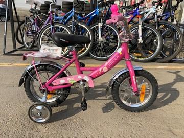 Велосипед детский Racer Dolpfin 916-12 (фиолетовый)