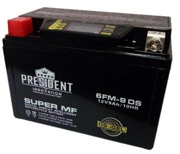 President YTX9-BS DRY BATTERY, мото-аккумулятор (6 шт.)