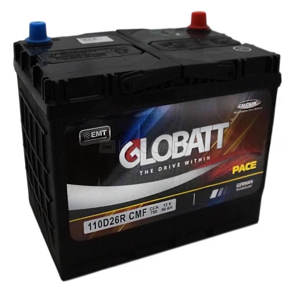 Globatt 105D31R, автомобильный аккумулятор