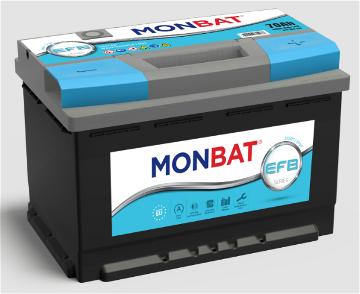 Стартерные аккумуляторы MONBAT EFB GM67L3XO
