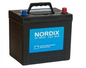 Nordix SMF115D31 R, автомобильные аккумулятор