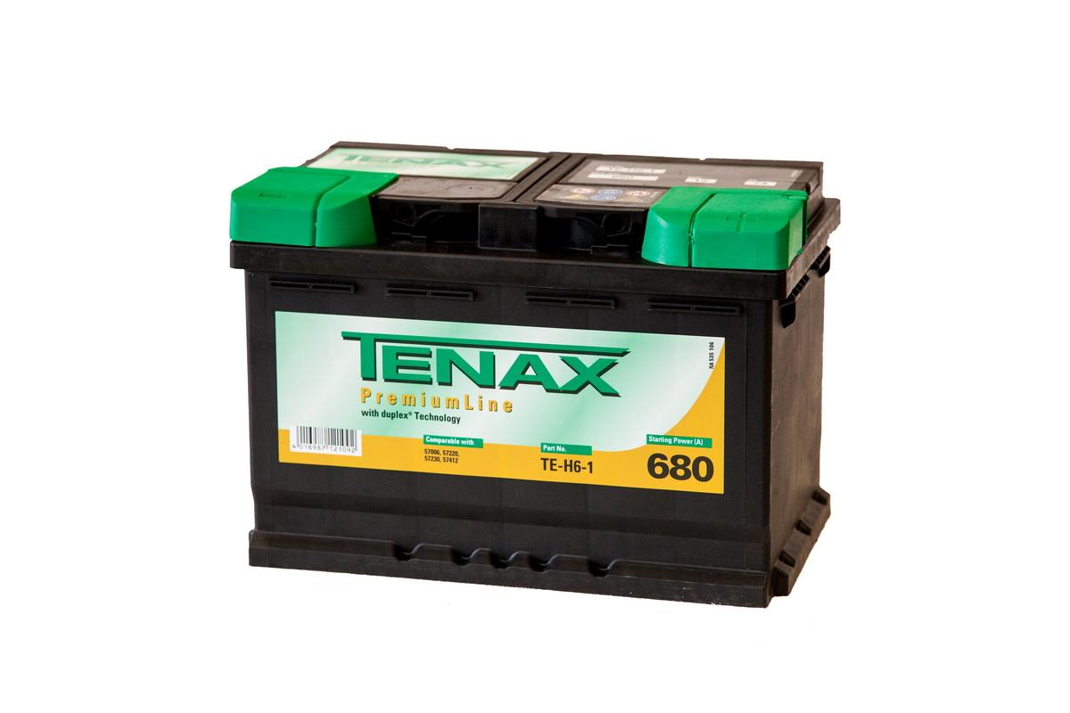 Tenax Premium ТЕ-Н6-1, автомобильный аккумулятор