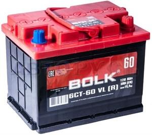 Bolk AB 750 L+, автомобильный аккумулятор