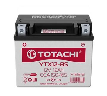 Мото аккумулятор TOTACHI MOTO CMF YTX12-BS R