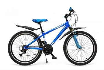 "Велосипед Wind Absolut 24"" 21-скор. 14"" рама синий"