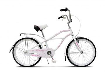 "Детский велосипед  WIND ANGEL 20"", белый"