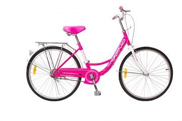"Велосипед Wind Ballet 24"" 1-скор. 16"" рама розовый"