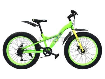 Велосипед Regulmoto 24-229 (зеленый/желтый) Фэтбайк