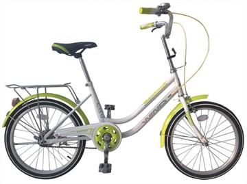 "Велосипед  Wind Dazzle 20"" 1-скор. бело-зеленый"