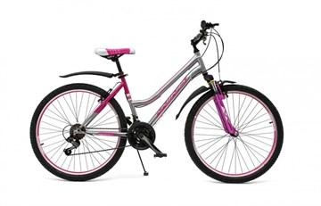 """Велосипед Wind Niagara 26"""" 21-скор. 16"""" серо-фиолетовый"""
