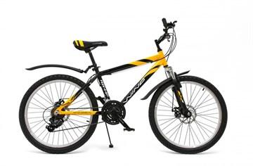 "Велосипед Wind Peek-a-boo 24"" 21-скор. 16"" рама черно-желтый"