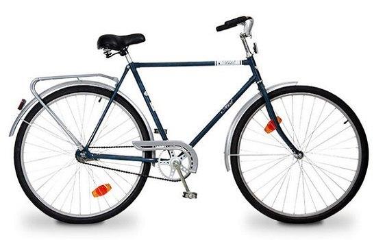 Аист (Aist) 28 синий дорожный велосипед